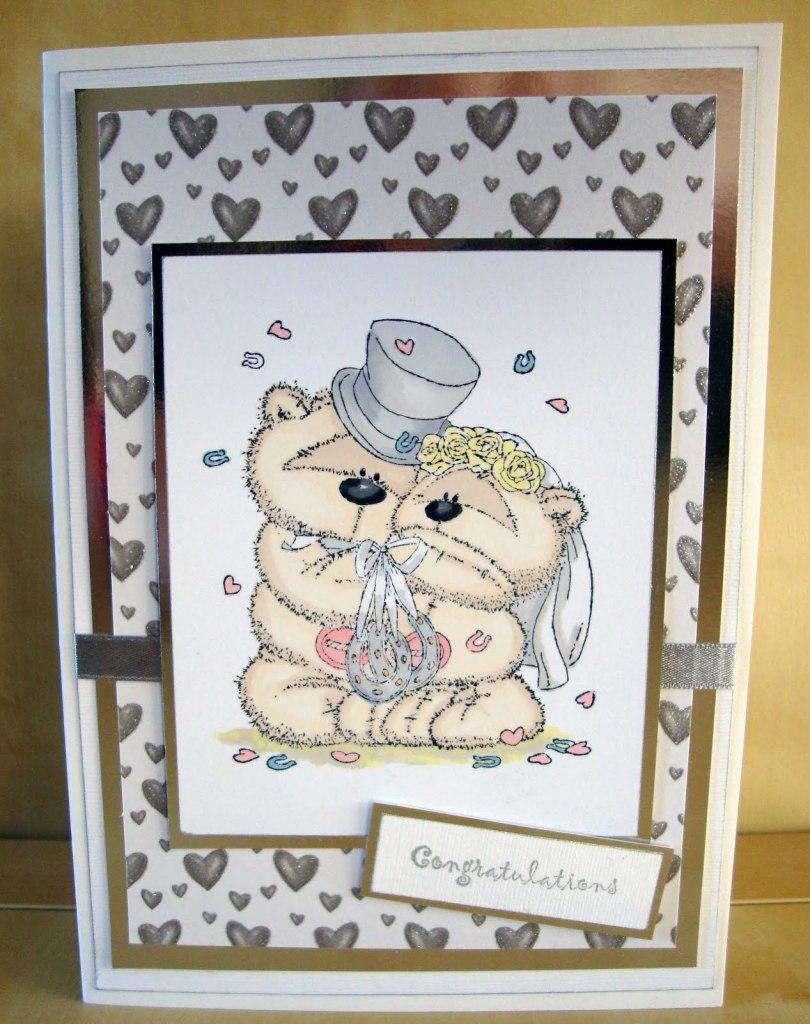открытки с мишками