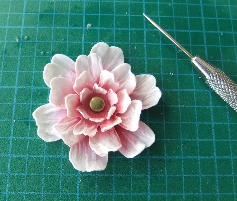 мастер класс цветок из бумаги
