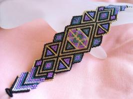 браслеты из бисера со схемами