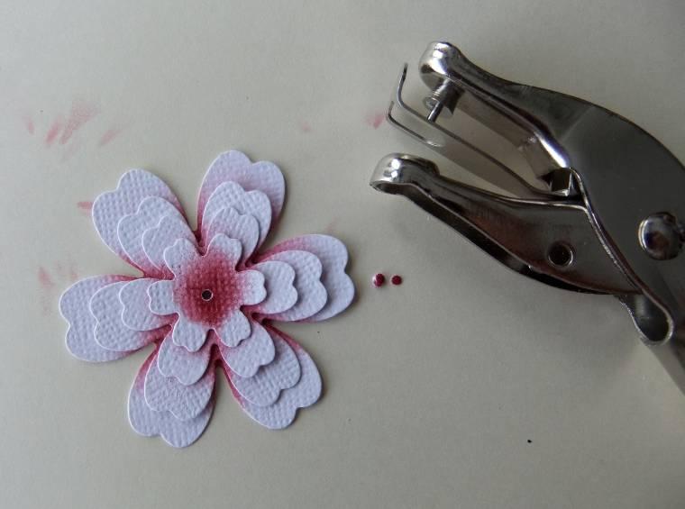 мк цветы из бумаги