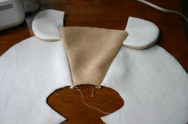 мишка выкройка мастер класс