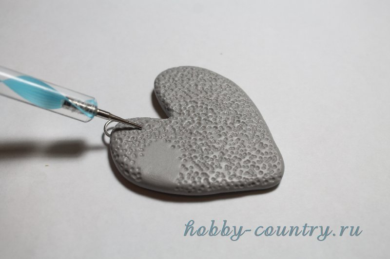 как сделать кулон сердце
