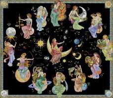 вышивка знаки зодиака схемы