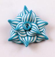 лепка из полимерной глины цветы