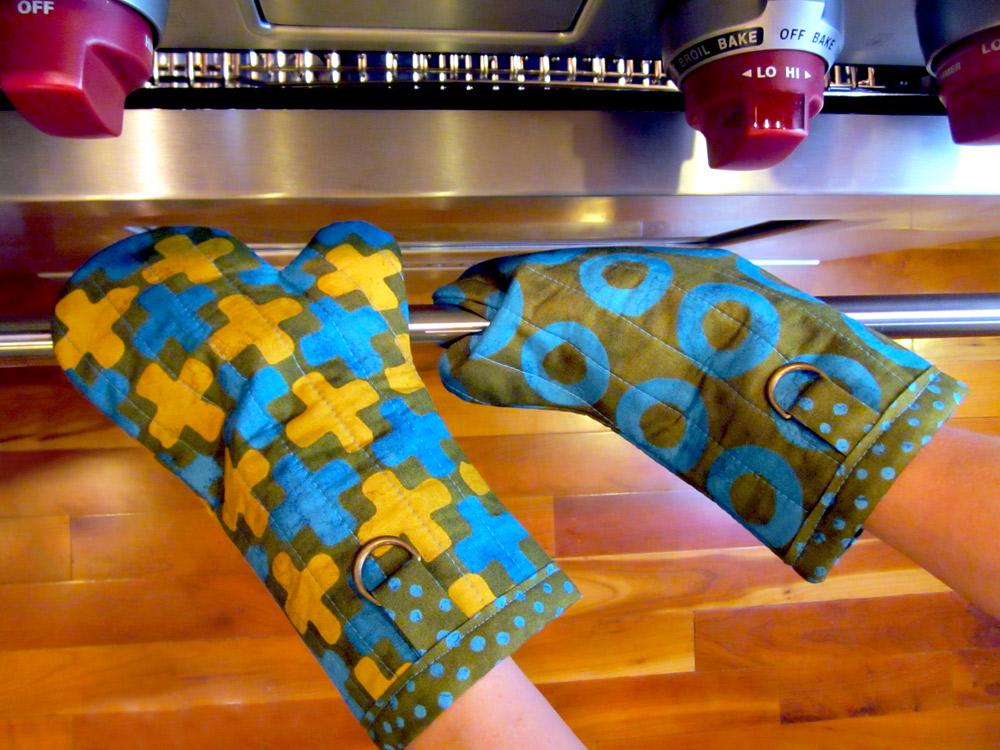 Перчатки для кухни своими руками 3