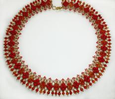 ожерелья из бисера схемы