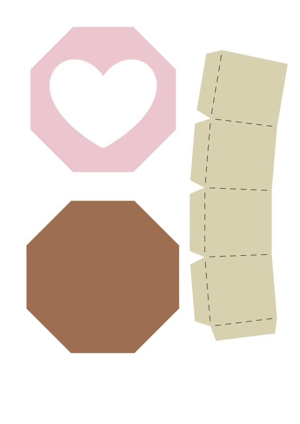 шаблоны коробочек из картона