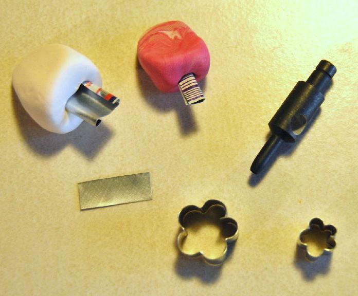 делаем украшения из полимерной глины