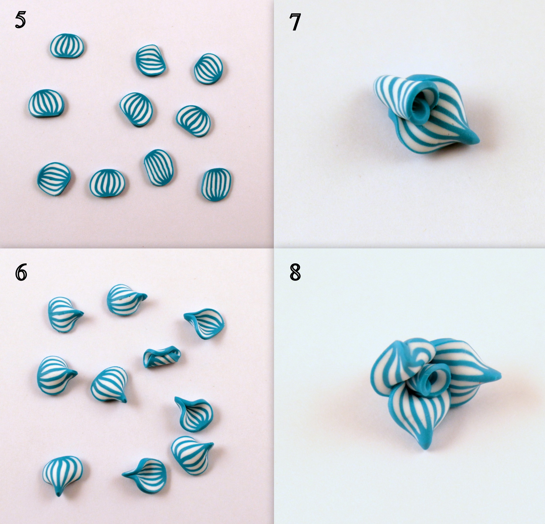 Цветы из полимерной глины: пошаговая инструкция для начинающих 48