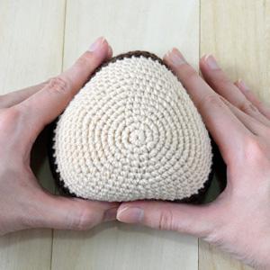 вязание ежика крючком схема