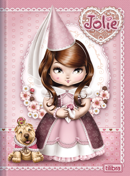 куколки Jolie Tilibra для распечатки