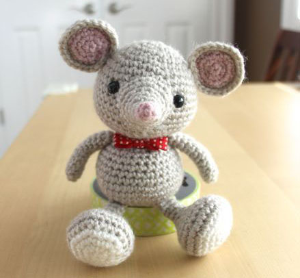 Амигуруми мышка