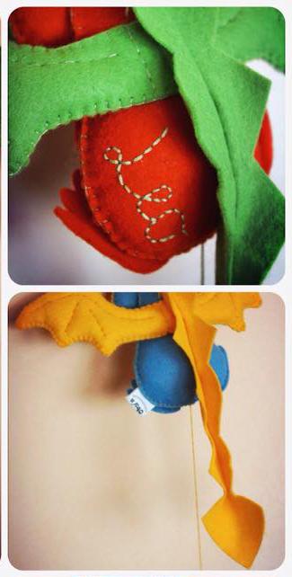 игрушки из фетра выкройки