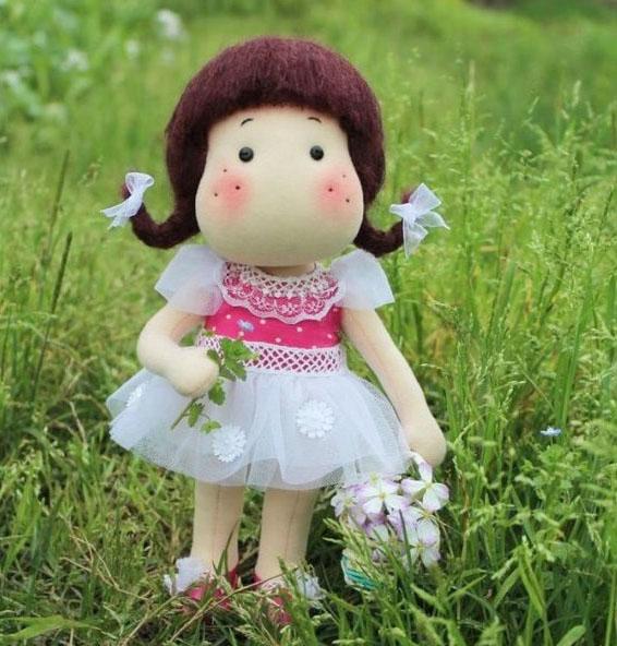 текстильные куклы ручной работы выкройки
