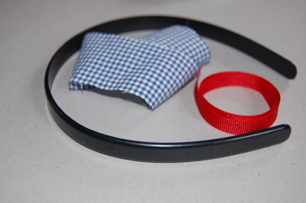 как сделать ободок из ткани