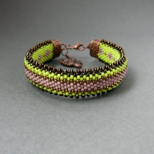 вязание бисером браслеты