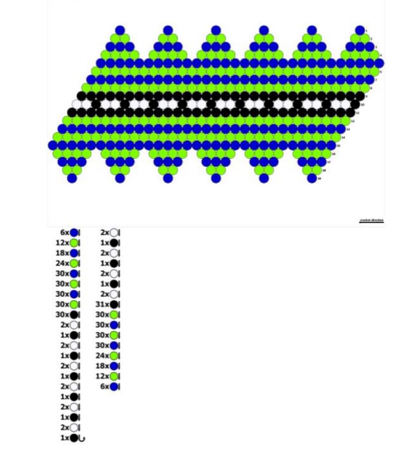 Схемы вязания бусин из бисера