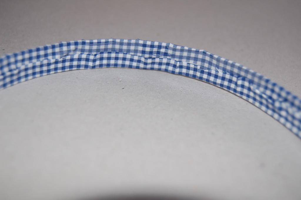 как сделать ободок из ткани своими руками