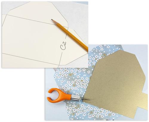 конверт из бумаги шаблон распечатать