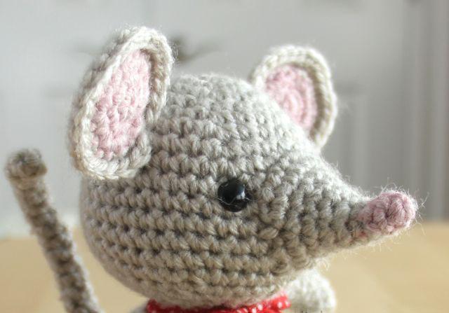 амигуруми мышка схема
