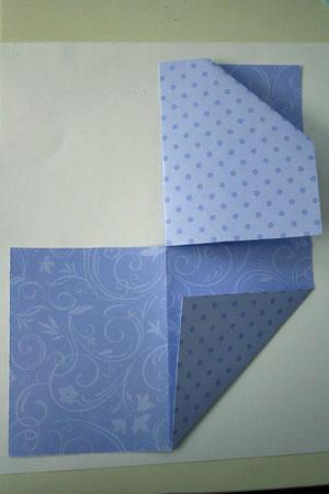 открытки из бумаги схемы