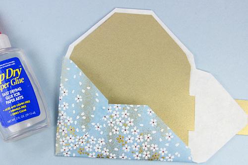 красивый конверт из бумаги