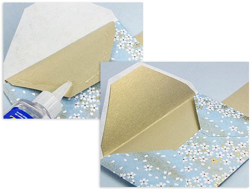 схема конверта из бумаги