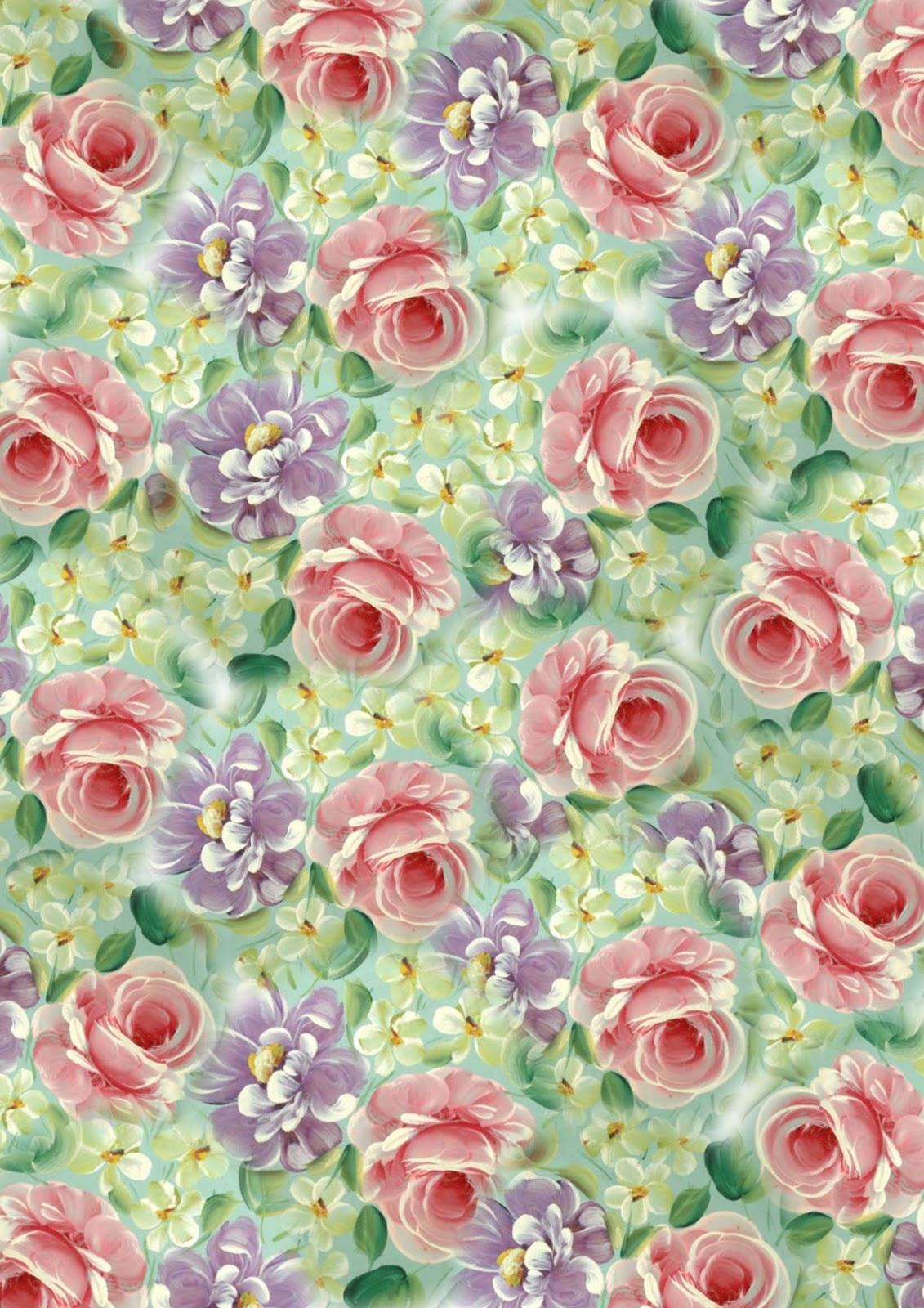 Картинки для декупажа цветы фоновые