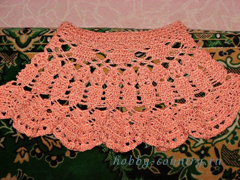 юбка вязанная крючком схема