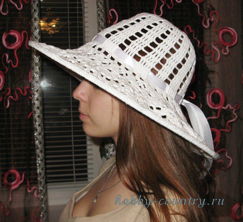 шляпы крючком со схемами