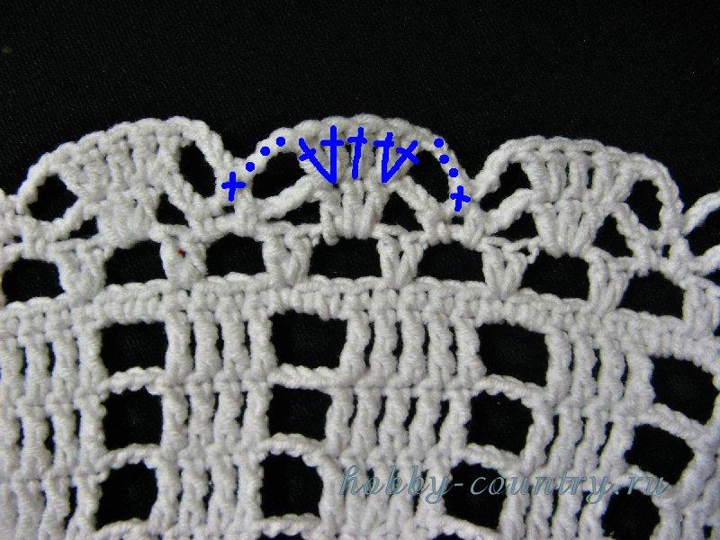вязание шляпы крючком с схемами