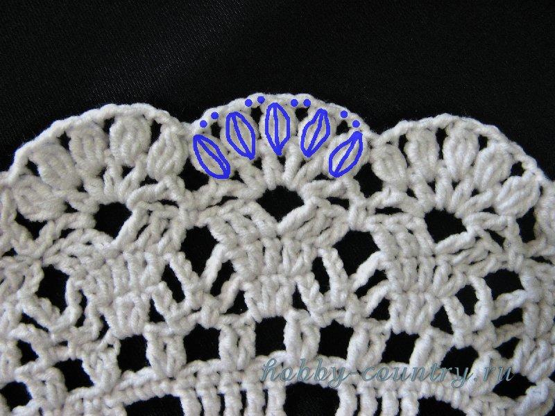 вязание летних шляп крючком схемы