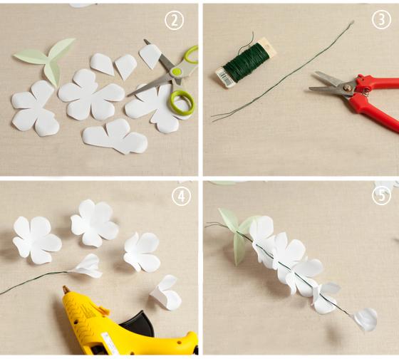 розы из бумаги своими руками шаблоны