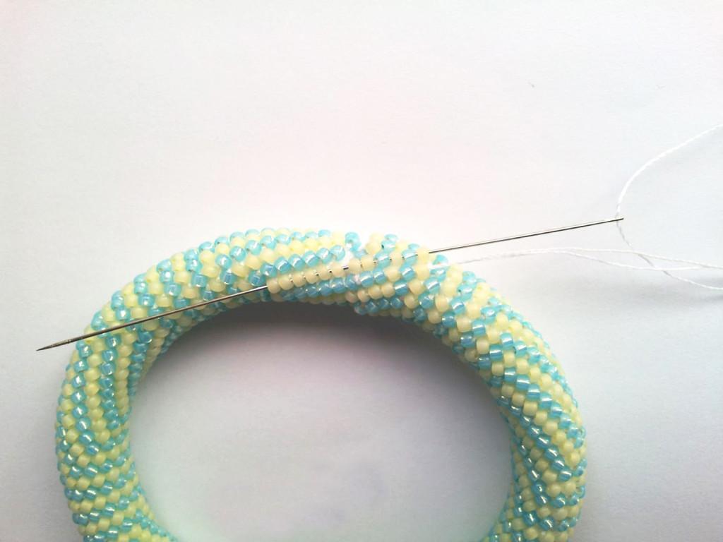 шнур из бисера