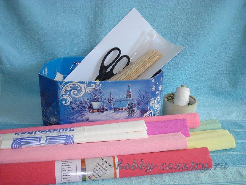 букеты из конфет корзинки мастер класс