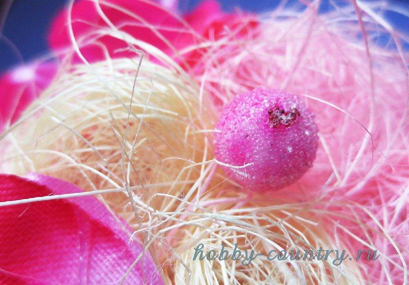 как делать цветочный топиарий