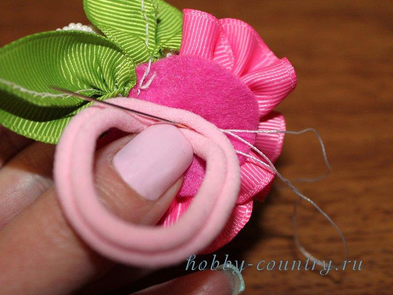 как сделать резинки из лент своими руками