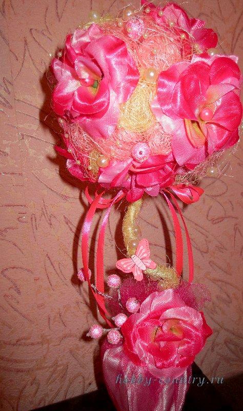 мк цветочный топиарий