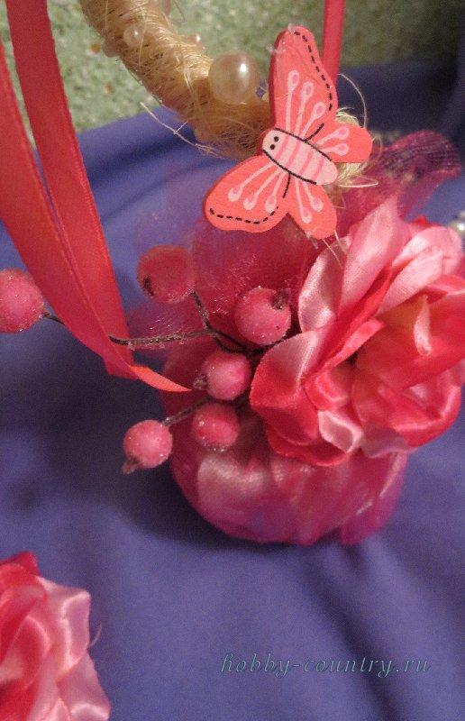 топиарий цветочный своими руками пошаговая инструкция