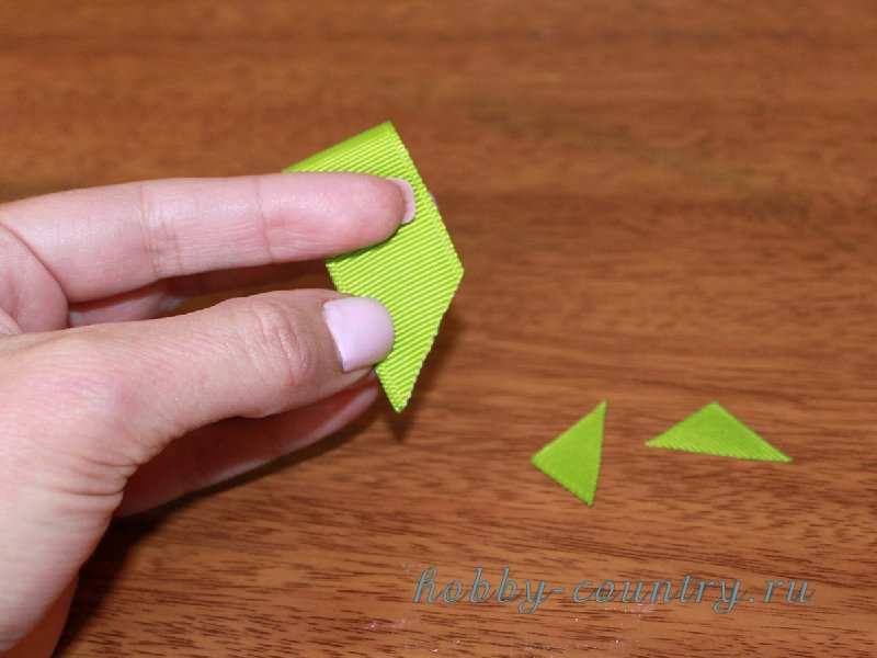 как сделать резинку из ленточек своими руками