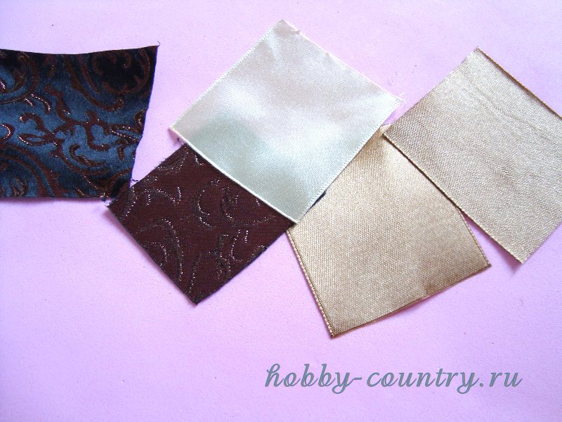 резинки из лент своими руками канзаши