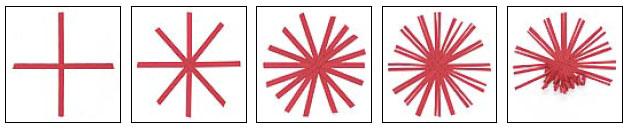 квиллинг хризантемы