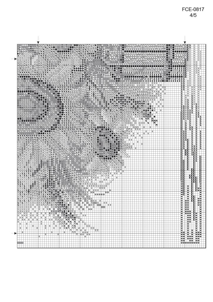 вышивка крестом подсолнухи бесплатные схемы