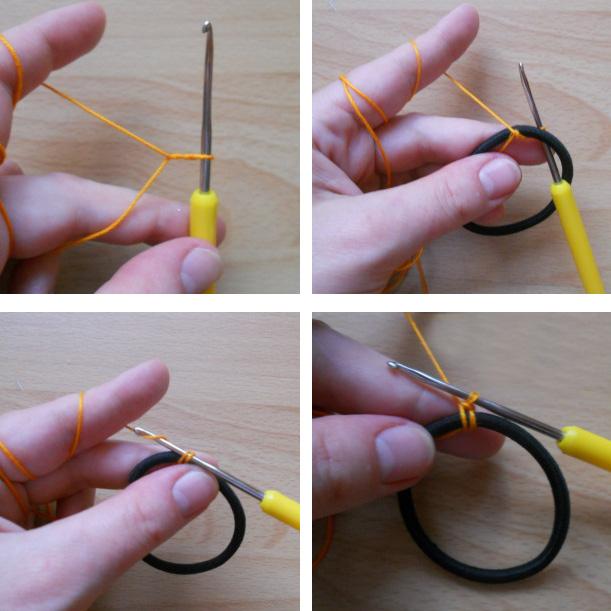 вяжем повязку на голову крючком