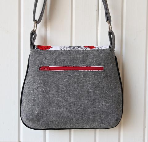 выкройка сумочки через плечо
