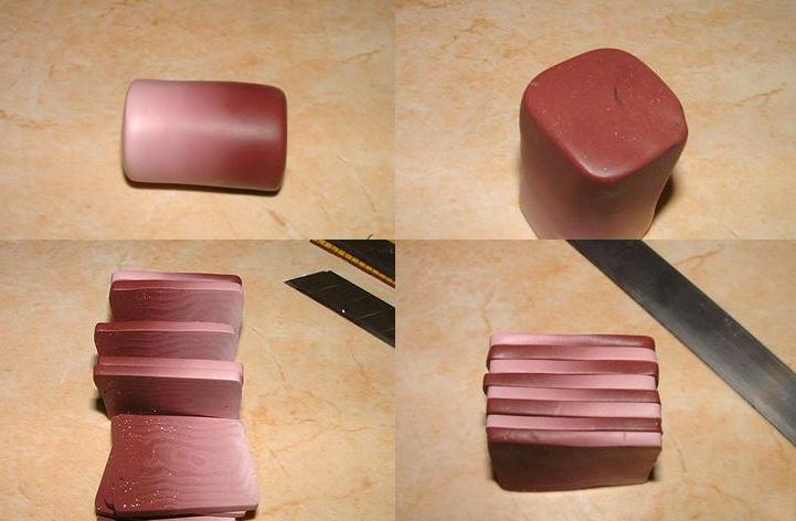 мк браслет из полимерной глины