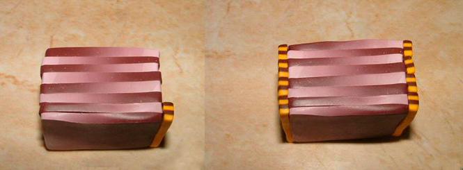 как делать браслеты из полимерной глины