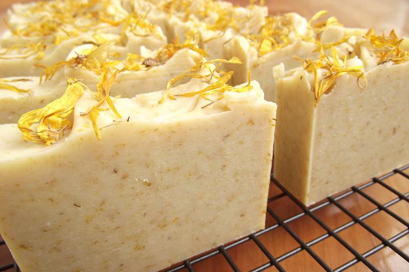 Рецепт мыла с календулой