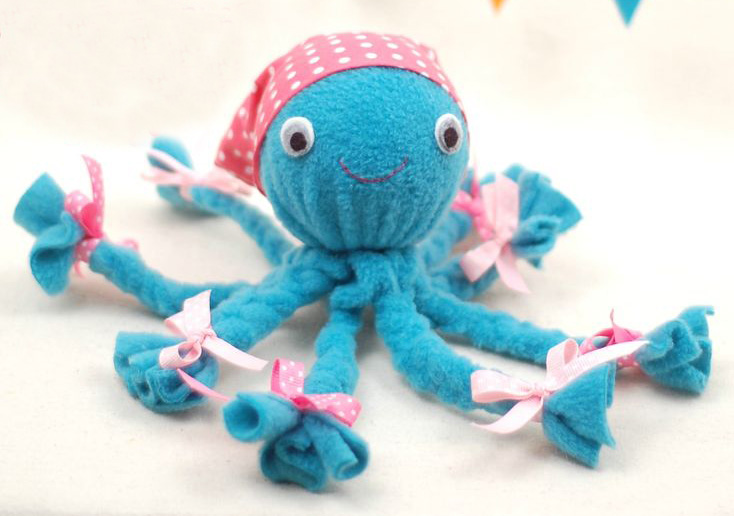 развивающая игрушка осьминог своими руками
