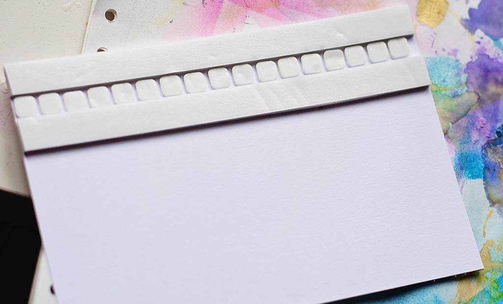 как оформить открытку своими руками